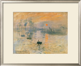 Impression Sunrise, 1872 Prints by Claude Monet