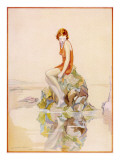 On the Rocks by Lindsay Cable Giclee Print