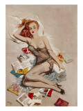 October, 1953 Giclee Print by David Wright