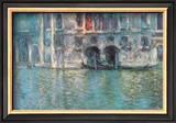 II Palazzo da Mula a Venezia Prints by Claude Monet