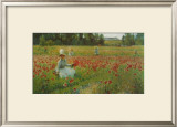 In Flanderns Field Poster by Robert William Vonnoh