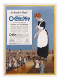 O-Cedar Polish Mop - Cleans as it Polishes Giclee Print