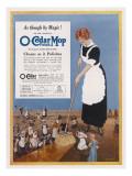O-Cedar Polish Mop - Cleans as it Polishes Giclee Print