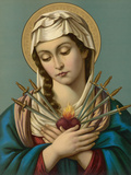 Our Lady of the Seven Sorrows Giclee Print