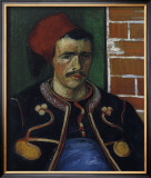 The Zouave, Bust Prints by Vincent van Gogh