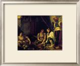 Femmes d'Alger dans Leur Appartement, c.1834 Posters by Eugene Delacroix