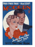 Modern Magazine Cover Giclee Print by David Wright