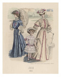Ladies and Girl 1904 Giclee Print by Philip Talmage