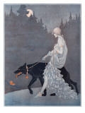 Queen of the Night by Marjorie Miller Giclee Print