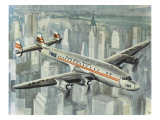 Lockheed Constellation Giclee Print