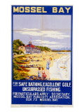 Mossel Bay Poster Giclee Print