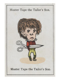 "Master Tape the Tailor's Son, from ""Happy Families"" Giclee Print"