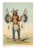 Medicine Man of the Mandan Tribe Giclee Print