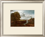 View on the Stour near Dedham Poster by John Constable