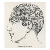 Paranormal Phrenology Giclee Print