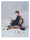 Patience Giclee Print by David Wright