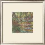 The Water Lily Pond, 1900 Prints by Claude Monet