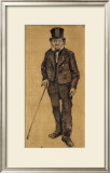 Orphan Man with Top Hat and Stick Prints by Vincent van Gogh