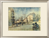 Boulevard de Clichy Framed Giclee Print by Vincent van Gogh