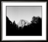 Half Dome in Trees Print by Bradford Smith