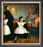 The Bellelli Family Framed Giclee Print by Edgar Degas