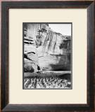 Navajo Farming Framed Giclee Print by Edward S. Curtis
