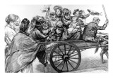 London Family Heading for Epping Forest on Whitmonday, 1893 Giclee Print
