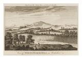 Near Lambourn, Berkshire; Aka the Great White Horse of Uffington Giclee Print