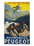 Peugeot Advertisement Giclee Print