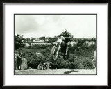 Husqvarna MX Motorcycle Framed Giclee Print by Giovanni Perrone