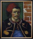 The Zouave, Bust Poster by Vincent van Gogh