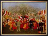Hundert Jahre Freiheit Posters by Henri Rousseau