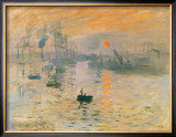 Impression Sunrise, 1872 Posters by Claude Monet