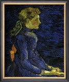 Portrait of Adeline Ravoux Print by Vincent van Gogh