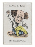 "Mr Tape the Tailor, from ""Happy Families"" Giclee Print"