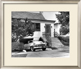 Cadillac Convertible Framed Giclee Print