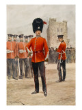 Northumberland Fusiliers (Note : 4th Battalion Has Green Uniform with Scarlet Facings) Giclee Print