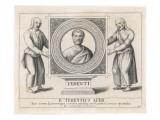 Publius Terentius Afer, Roman Writer Giclee Print