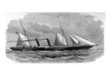 P&O Liner SS 'Delta', November 1859 Giclee Print