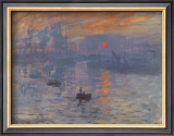 Impression, Sunrise, c.1872 Posters by Claude Monet