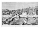 Palma : the Harbour, La Lonja and the Cathedral Giclee Print