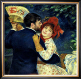 Dance in the Country Framed Giclee Print by Pierre-Auguste Renoir