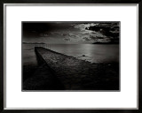 Jetty near the Palm Beach Prints by Olivier Meriel