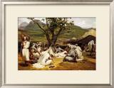 L'Arabe Diseur de Contes, 1833 Posters by Horace Vernet
