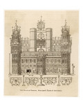 Nonsuch Palace, Surrey Giclee Print