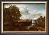 View on the Stour near Dedham Prints by John Constable