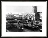 San Francisco, Cable Cars, Wharf Framed Giclee Print