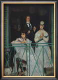 On the Balcony Prints by Édouard Manet
