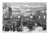 Napoleon III in Torino Giclee Print
