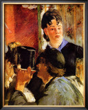 The Waitress Framed Giclee Print by Édouard Manet